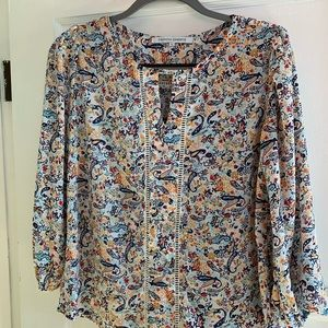 Collective Concepts size Small blouse - paisley